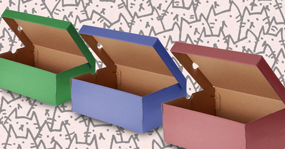 Ben noto 10 idee per riciclare le vecchie scatole di scarpe. – freeangels  TZ15
